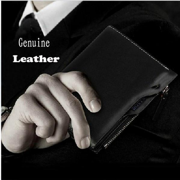 Men Wallet 2015 New Genuine Leather Brand Wallets men credit Mix Color Card holder Coin Purse