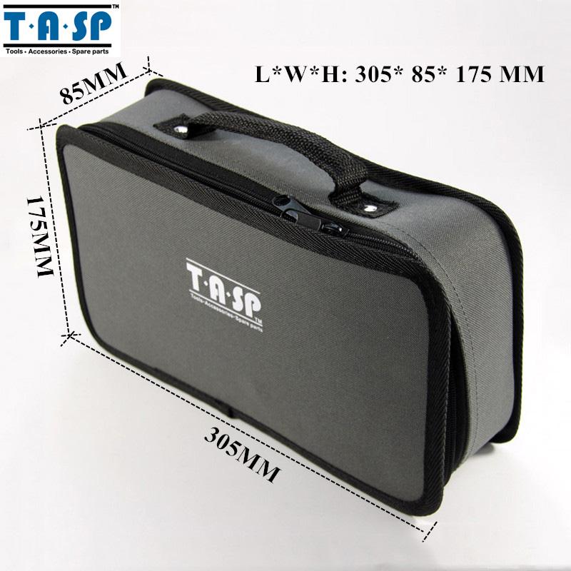 TASP Oxford 600D Cloth Tool Bag Case 305x175x85mm Handbag Dremel Mini Drill Hand Tool Storage Bag(China (Mainland))
