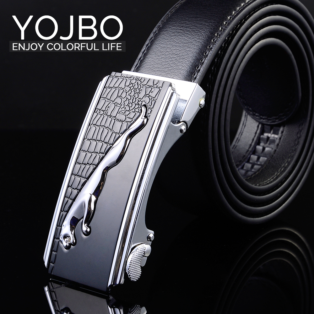 designer brand belts kapb  YOJBO Luxury Male Cowskin Leather Belt Men Big Belts Designer Belts Mens  Brand High Quality Buckl 2017 Classic Fashion Strap