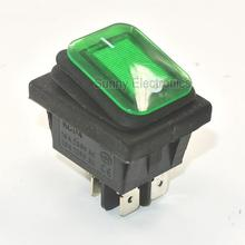 50x Green power switch RLEIL RL2 (P) Waterproof IP65 ON/OFF Boat Car Rocker Switch(China (Mainland))