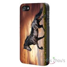 HORSE Pony Protector back skins mobile cellphone cases for iphone 4/4s 5/5s 5c SE 6/6s plus ipod touch 4/5/6