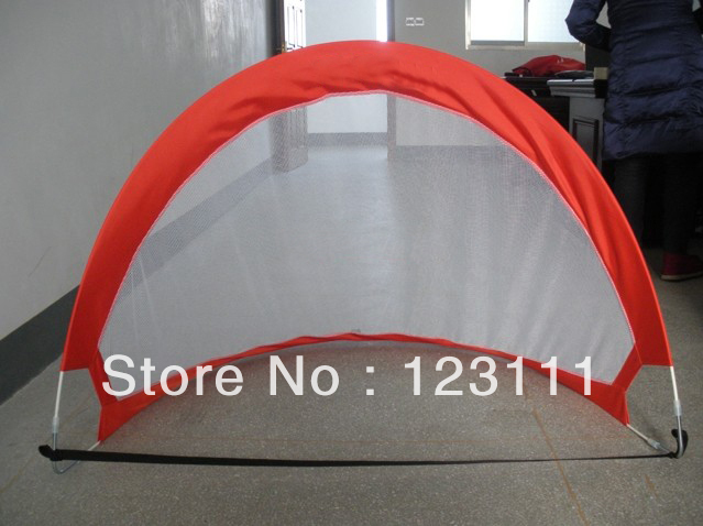 Foldable Portable Pop-up Soccer Goal/Soccer Equipment/mini,arc,removable,quick start(4'Wx2.7'Hx2.7'D,easy set-up,with carry bag)(China (Mainland))
