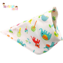 3pcs Bibs Triangle Infant Saliva Towel Burp Cloth Baby Accessories Feeding Smock Baby Bibs Girl Boy Bandana Baberos Bebes