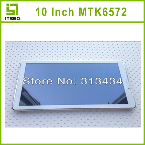 10 Inch MTK6572 Galaxy Phone Call GPS Tablet PC Android 4 2 GSM 2G Monster FM