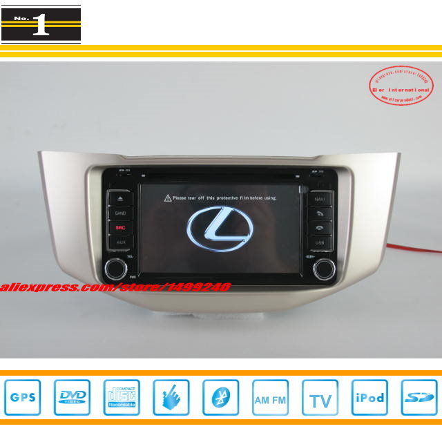 For LEXUS RX330 RX 330 - Car Radio Stereo DVD Player GPS Navigation System / Radio TV BT iPod AUX USB SD 3G WIFI S100 System(China (Mainland))