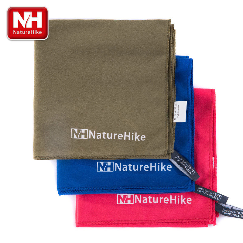 Naturehike  Microfiber Antibacterial Travel Ultralight Compact Quick Drying Towel Camping Hand Face Absorsent Bath Shower Towel