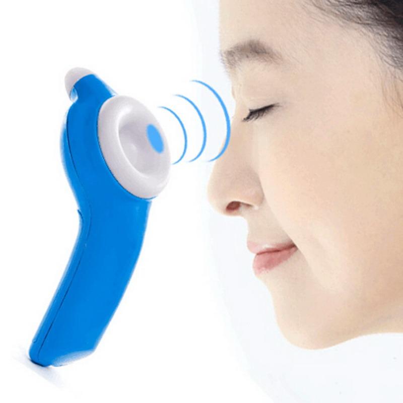 Eye Massager Nearsightedness Prevention Electric Massage Apparatus Blue GUB#