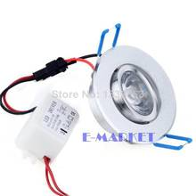 2014 Newest 3W New LED Downlight Recessed LED Ceiling Light Spot Light Lamp SV003013 3A(China (Mainland))