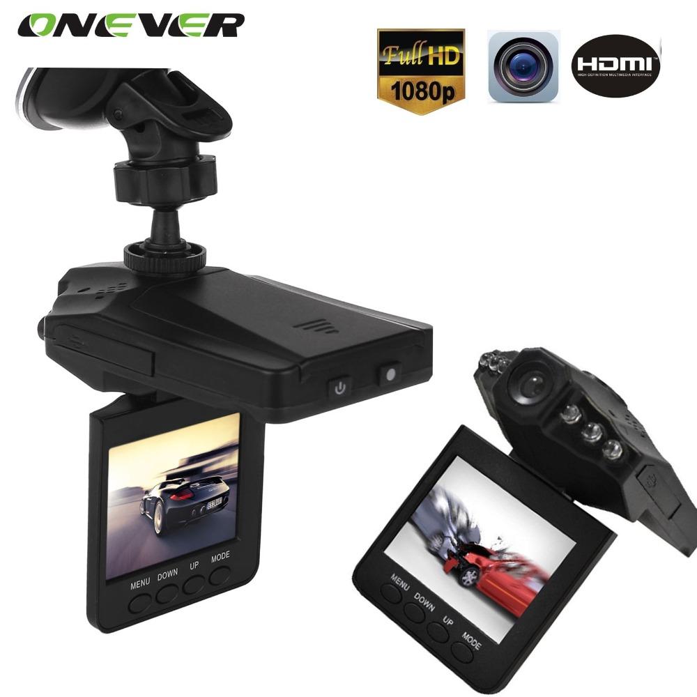 "2.5"" LCD Screen 6 LED Night Vision Vehicle Car Detector camera Recorder 120 Degree Wide View Angle HD Car DVR(China (Mainland))"