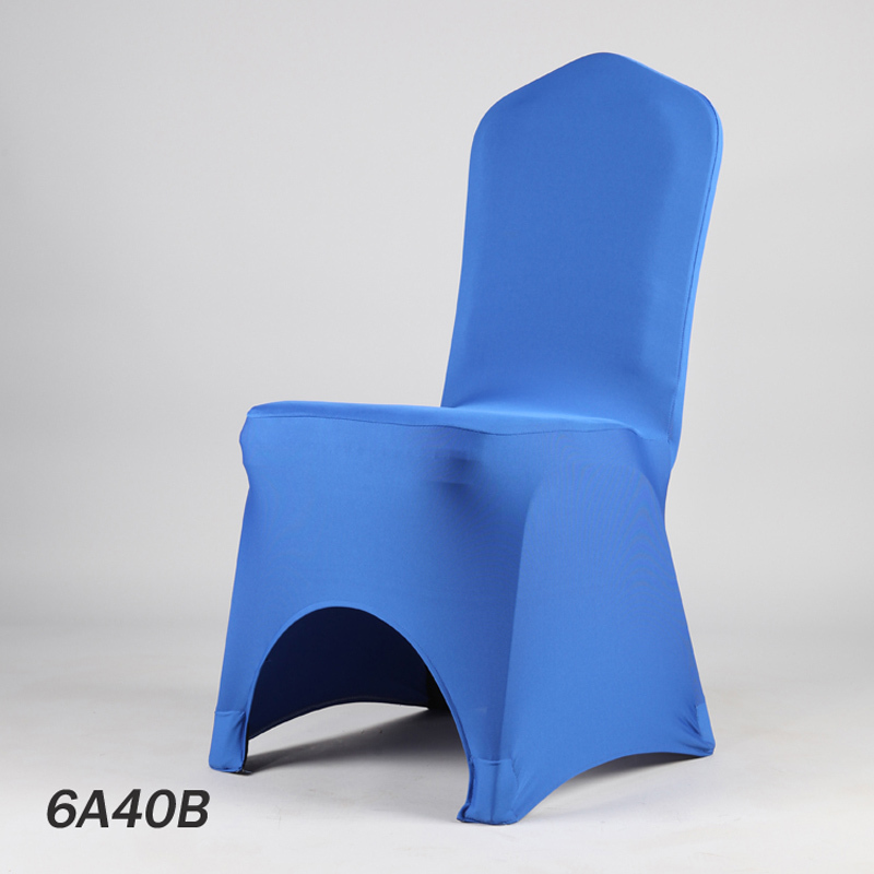 Manufacturer Wholesale 40 Color Lycra Dinner Cover Chair Restaurant Stretch Chair Cloth Wedding Banquet Chair Cover(China (Mainland))