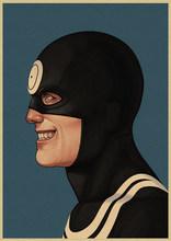Marvel Siêu Nhân Nhân Vật Người Nhện Sắt Người Đội Trưởng Mỹ Poster Thanh Cafe Trang Trí Nhà Tranh(China)