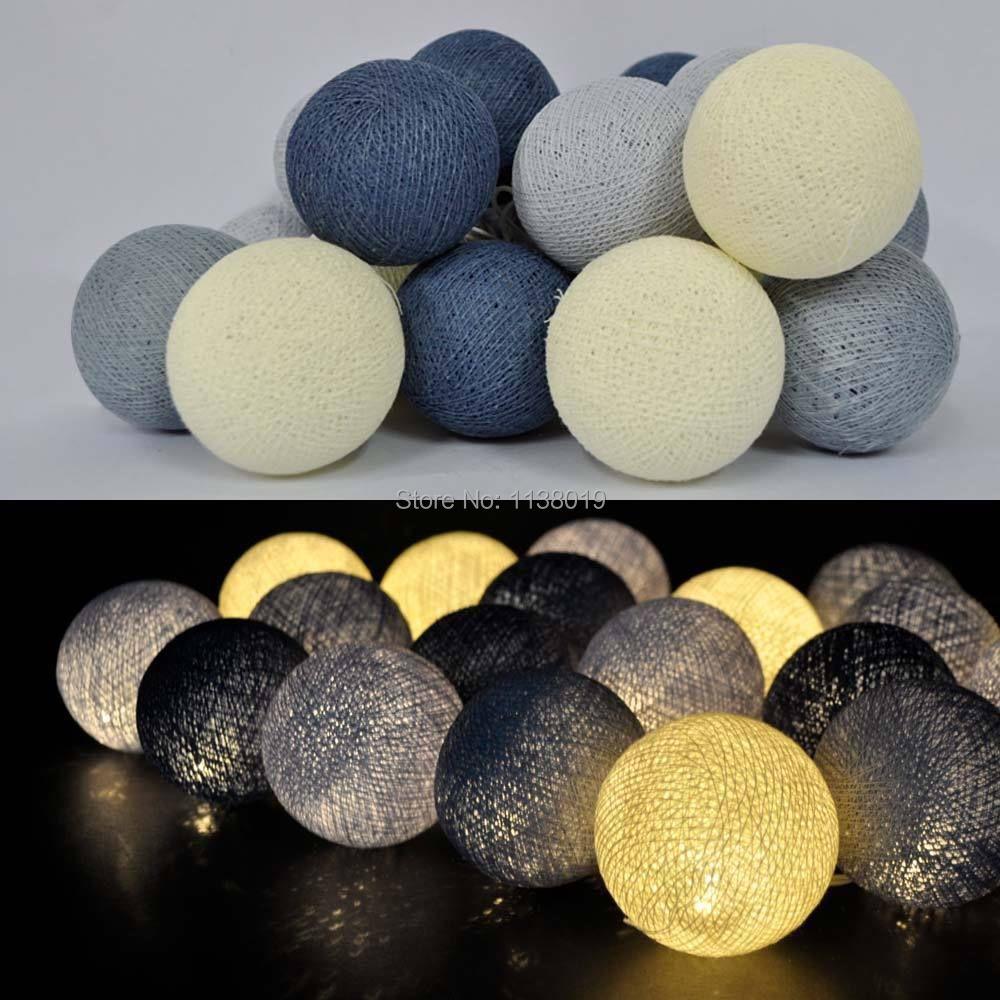Thai Style Cotton Ball Led