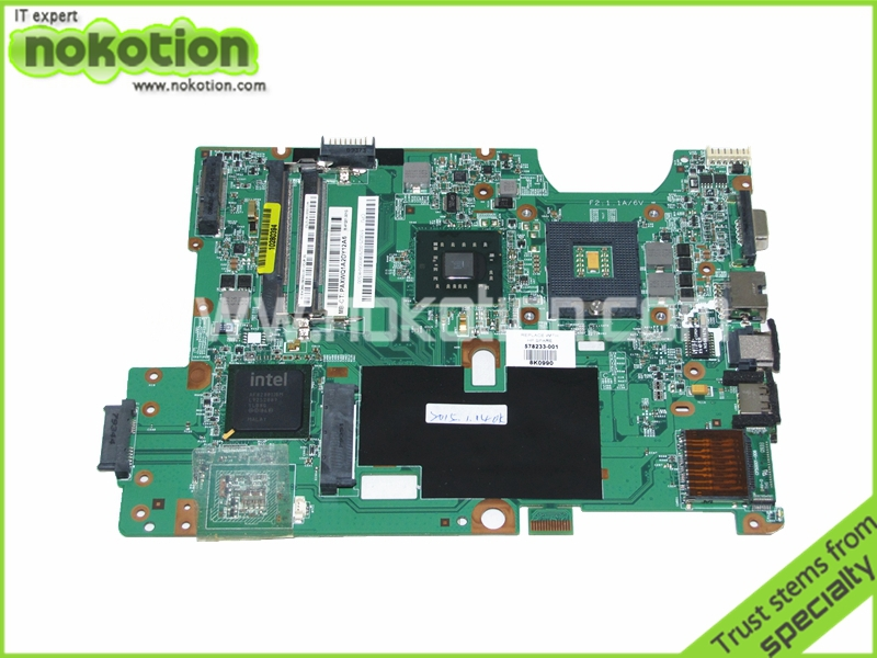 laptop motherboard for hp G60 compaq CQ60 578233-001 48.4FQ01.011 GM45 DDR2(China (Mainland))