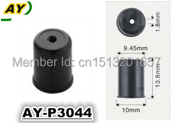 200pieces wholesale Fuel injector plastic parts ,pintle cap ASNU07 for denso injector repair kits (AY-P3044,10*13.8*9.45mm)(China (Mainland))