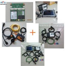 Super MB Star C5 SD Connect For BMW Icom A2 B C with Tablet Xplore Ix104 C5 i7 with 2016.05 mb sd c4 software &icom a2 software(China (Mainland))
