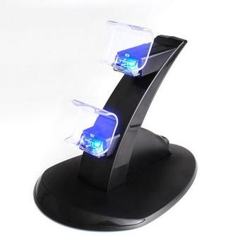 Новый Двойной Зарядное Контроллер Стенд-Станции для Sony PlayStation 4 PS4 Игровой Консоли PS4 с Пыленепроницаемый Обложка Игры Аксессуары