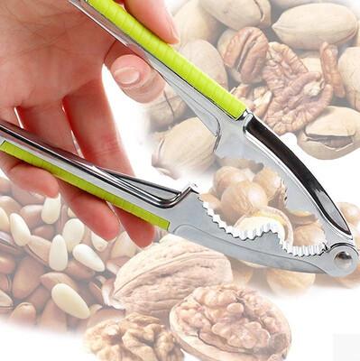 En alliage de Zinc rapide noyer nut cracker Sheller nutcracker Opener cuisine outils 2015 nouvelle casse - noix(China (Mainland))