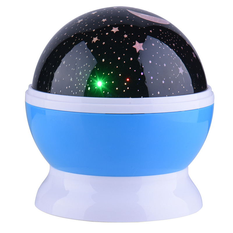4 LED Sun And Star Lighting Lamp Romantic Room Rotating Cosmos Star Projector Starry Moon Sky Night Projector Kid Bedroom Lamp(China (Mainland))