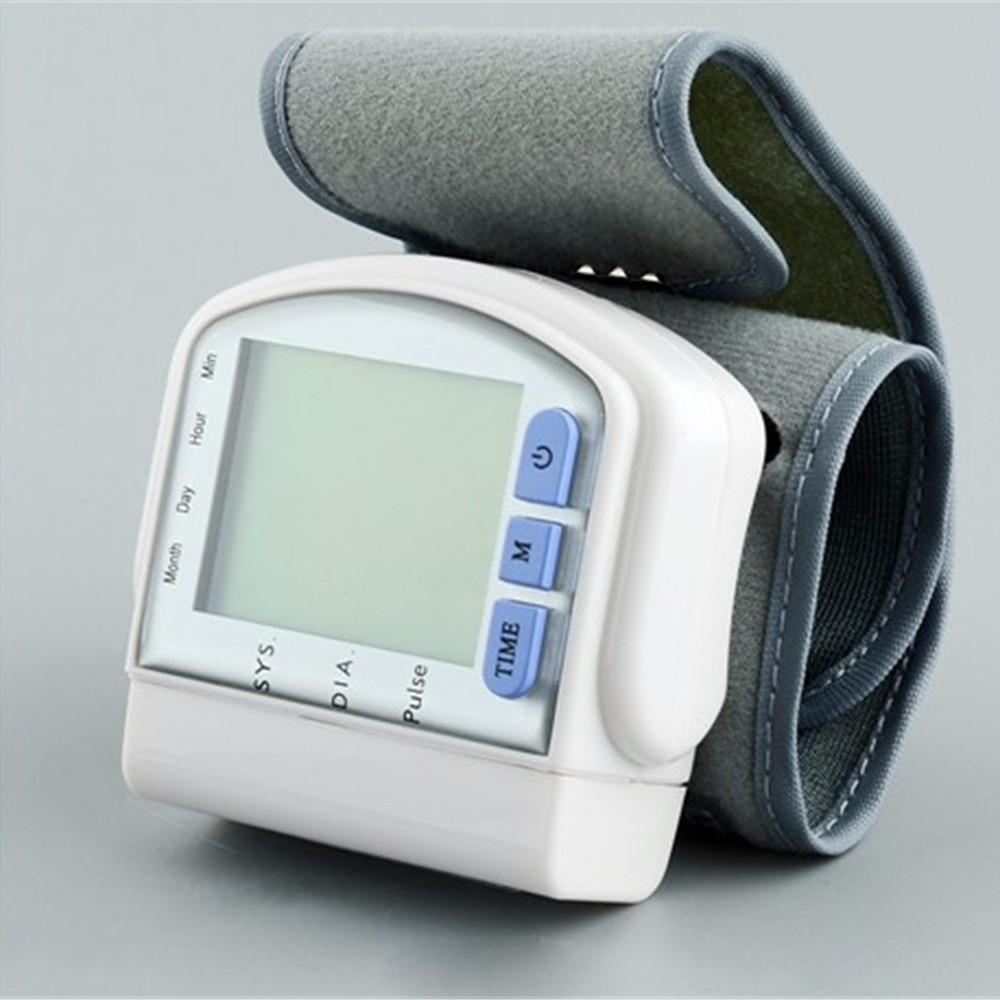 Digital LCD Automatic Wrist Watch Blood Pressure Monitor Heart Beat Rate Pulse Meter Measure Sphygmomanometer Home Health Care cheap