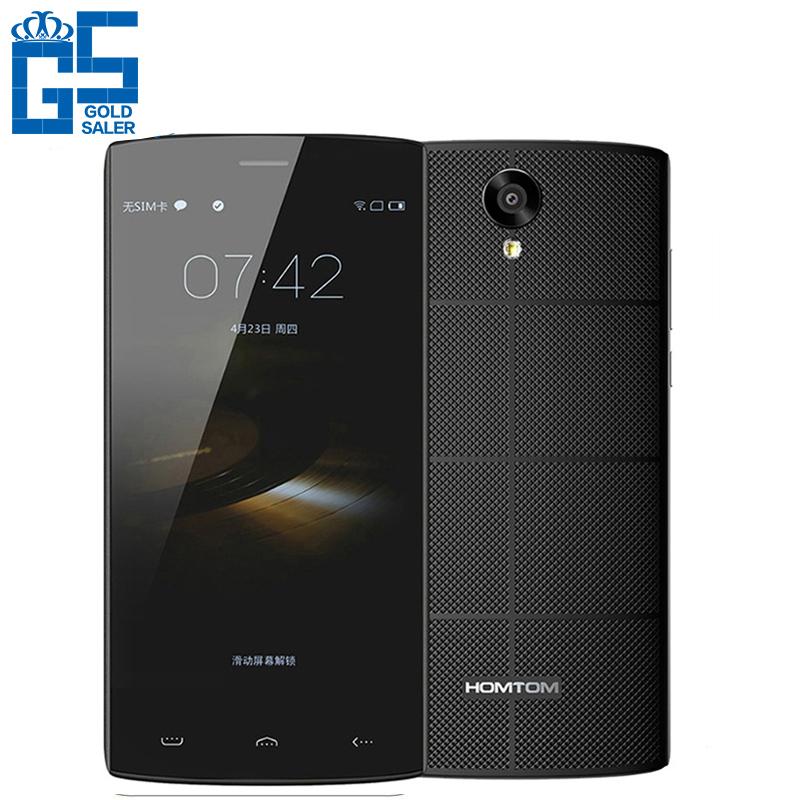 "Original New HOMTOM HT7 5.5"" HD IPS MTK6580A Quad Core WCDMA Cell Phone Android 5.1 1GB RAM 8GB ROM 8MP Dual SIM 3000mAh(China (Mainland))"