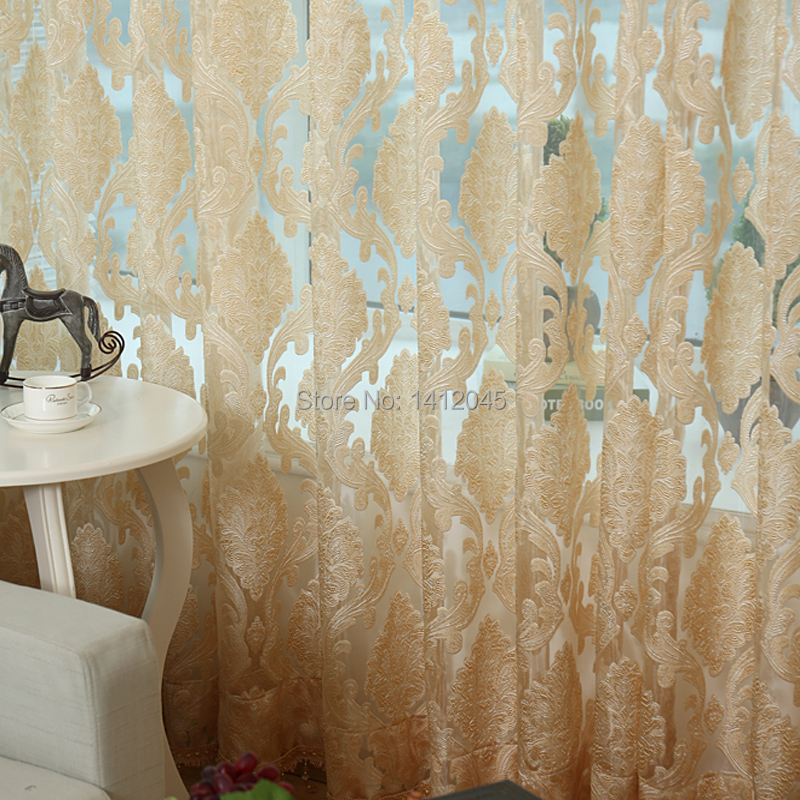High Quality Fashion Modern Sheer Curtain Tulle Curtains