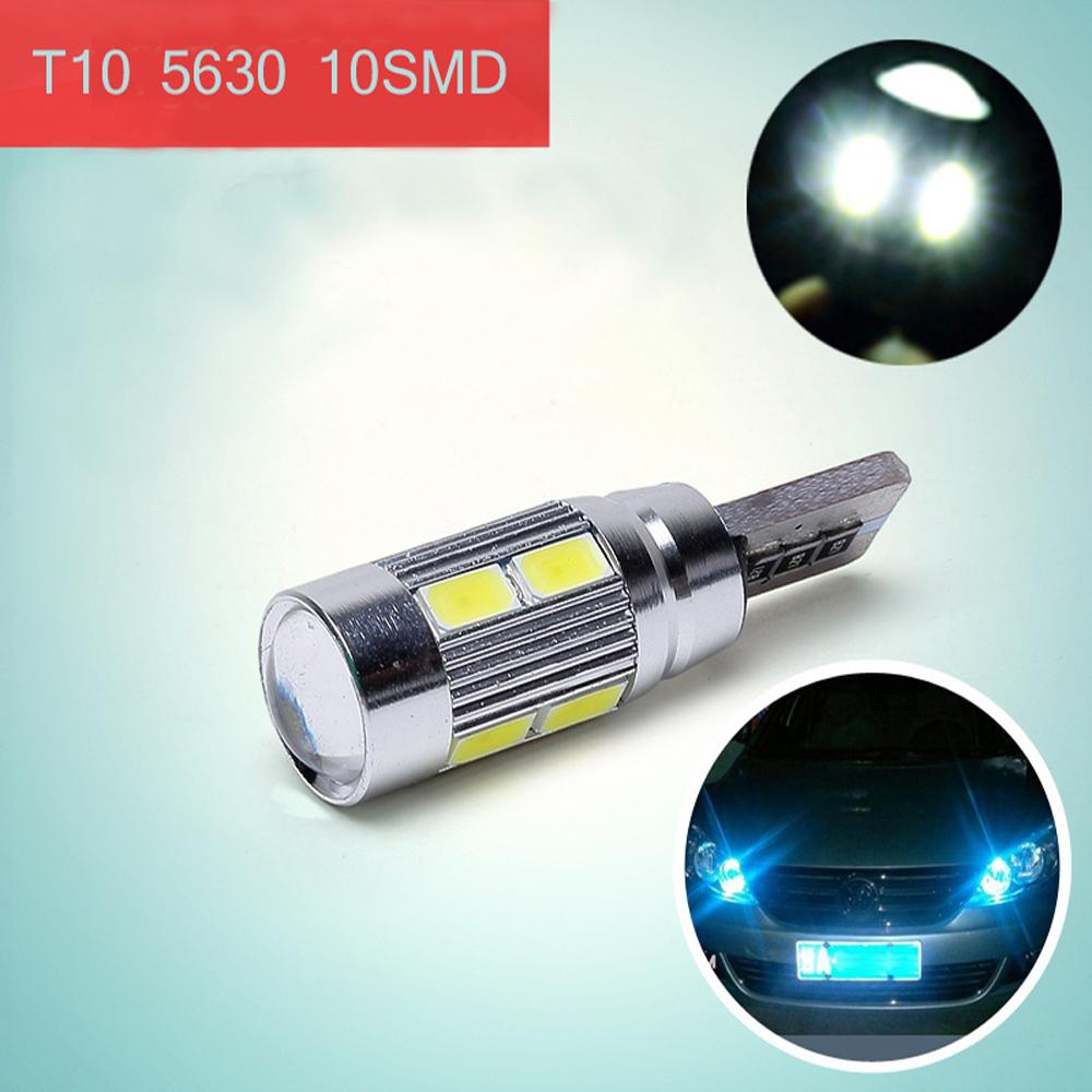 2016 NEWS !! Free shipping Car Auto LED T10 194 W5W Canbus 8 smd 5630 cree LED Light Bulb No error led light parking(China (Mainland))