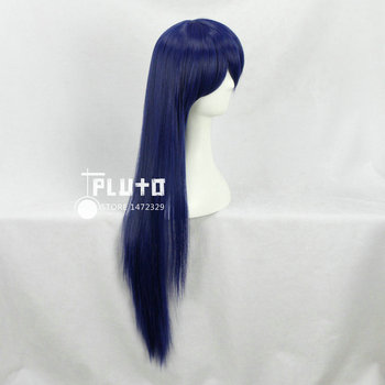 [Love Live] Sonoda Umi Mixed Blue Hair Straight Long 80cm Cosplay Wig