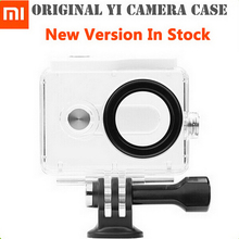 New Version IN STOCK! Original Xiaomi Yi Camera Waterproof Case, Mi Yi 40M Diving Sports Waterproof Box, Yi Camera Accessories(China (Mainland))