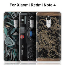 Buy Xiaomi Redmi 4/3/2/Pro/4pro/3s/1s case, 3D cartoon custom-made painted back cover case Xiaomi Redmi Note 4X/3/2 case for $6.98 in AliExpress store