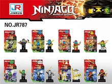 JR787 Building Blocks Ninjagoes KAI JAY COLE ZANE Lloyd WU NYA GARMADON Minifigure children Bricks Toys Mini figures - KOPF TOY Co., Limited store