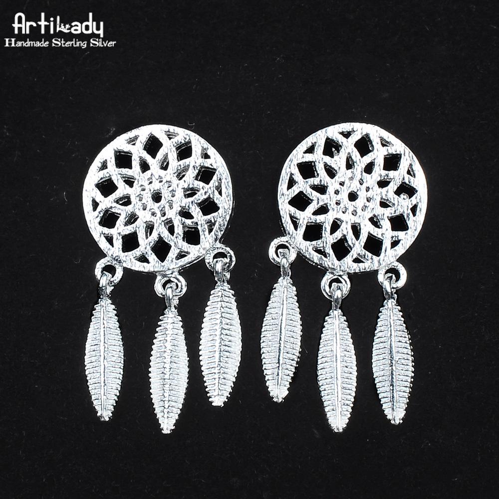 Model  Earrings 925 Sterling Silver Jewelry Earrings Women Earring Jewelry