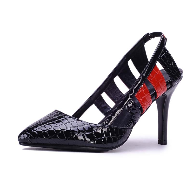 Factory Sell Women Pumps Thin High Heels Sandals Design Pointed Toe Platform Shoes Half Casual Party Wedding Pumps