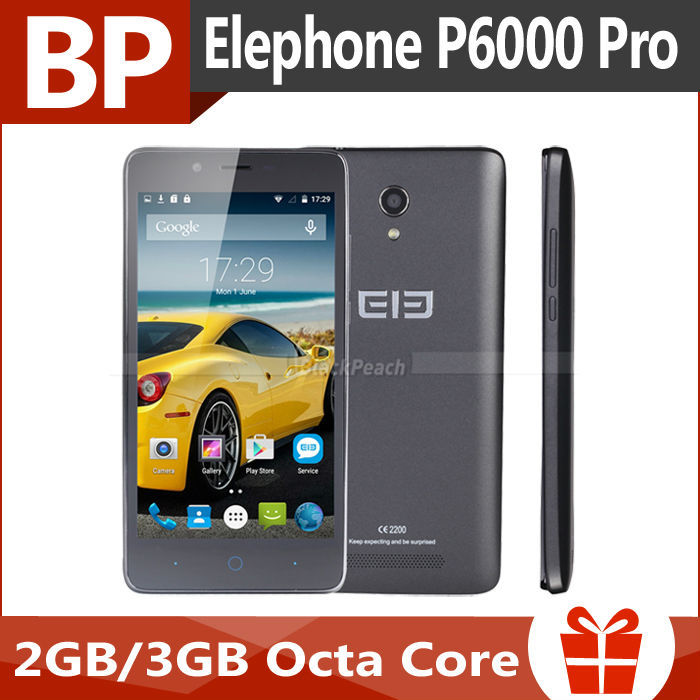 Presell Elephone P6000 Pro 4G FDD LTE 5.0 inch HD IPS MTK6753 Octa Core Android 5.1 Mobile Cell Phone 3GB RAM 16GB ROM 13MP(China (Mainland))