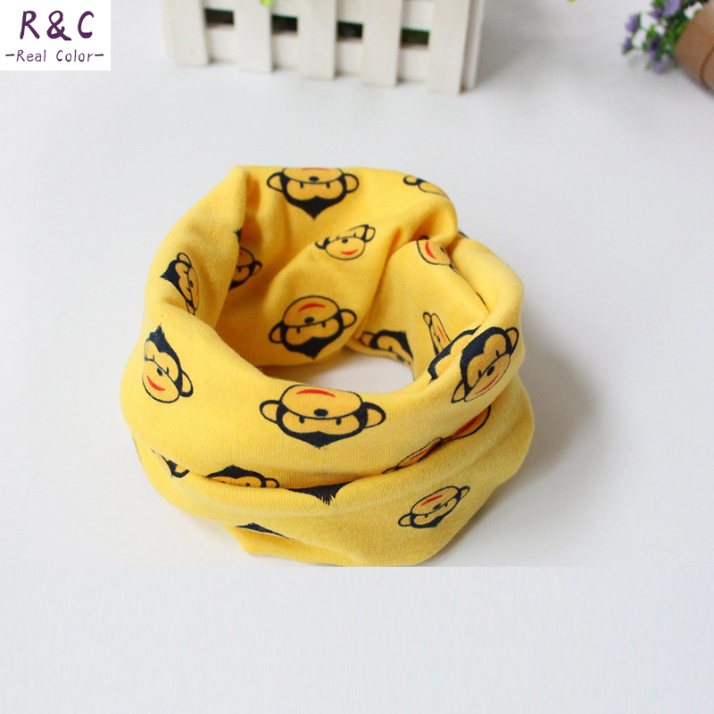 2015 Free shipping 17 styles Baby scarf Children collar scarf Boys and girls cute cartoon scarf Kids child neck Scarves(China (Mainland))