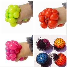 1PC Hot Sale Anti Stress Face Reliever Grape Ball Autism Mood Squeeze Relief Healthy Funny Tricky Toy(China (Mainland))