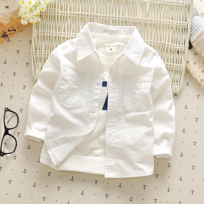 2016 spring and autumn 0-3y baby girls clothing long-sleeve cotton baby children clothing infants shirts high quality(China (Mainland))