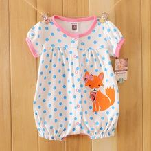 new summer baby clothes baby girl short sleeves bodysuit baby boy jumpsuit