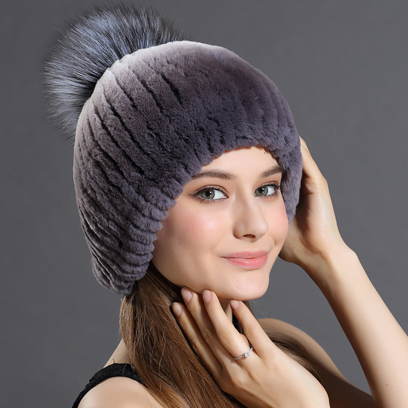 Women's Hats Caps Trendy Caps New Adult Free Size Luxury Brand Russian Rabbit fur Hats Beanies Russian Ushanka Hats New 2016(China (Mainland))