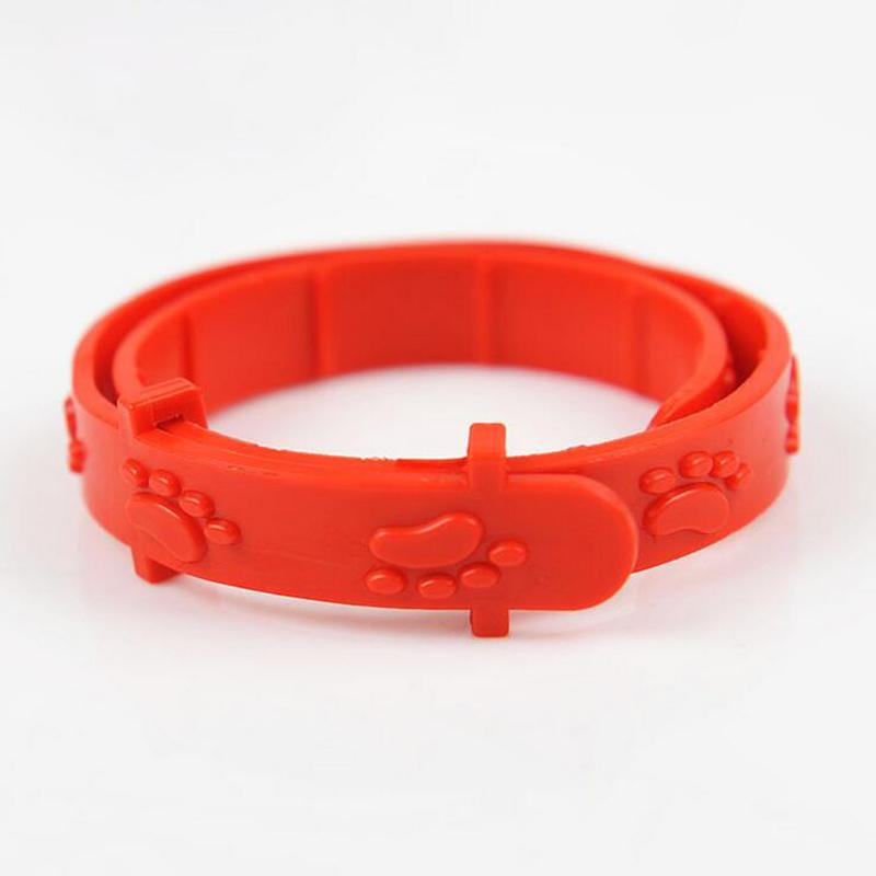 منتجات الحيوانات الأليفة الجملة 12pcs/lot الديدان طوق الكلب حيوان أليف القط قملة التخييم البعوض القاتل طارد البرغوث طوق(China (Mainland))