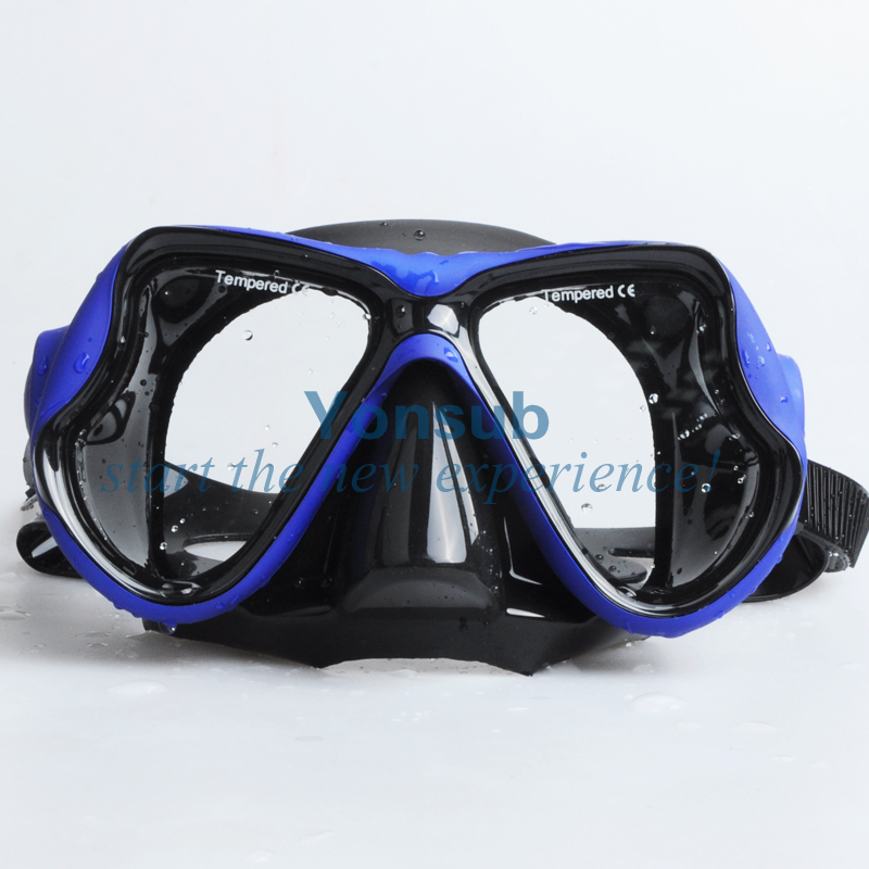 Free Shipping Diving Mask and Snorkel Set Mask Goggles Swimming Goggles Snorkeling Equipment Diving Equipment(China (Mainland))
