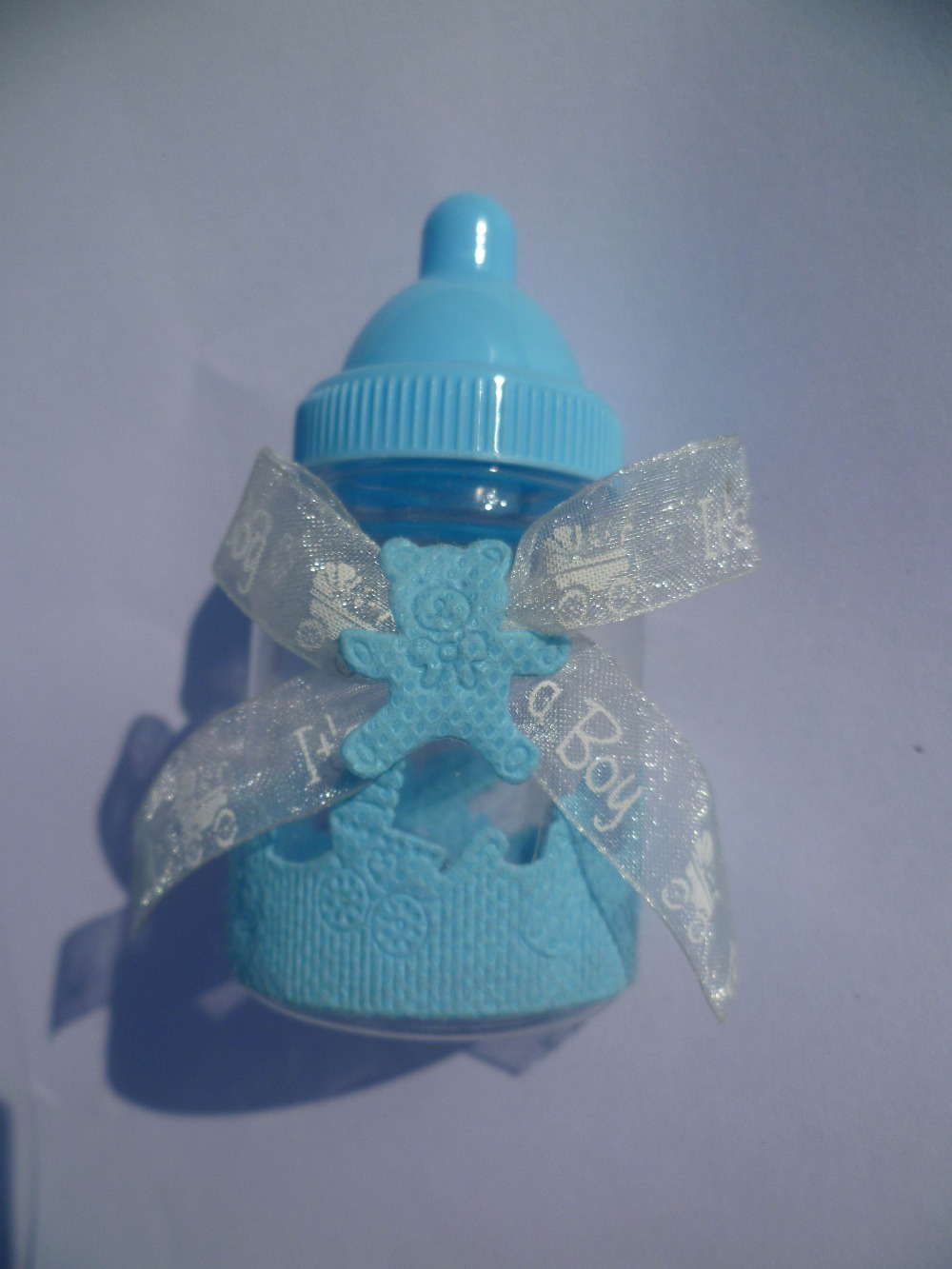Buy new 2014 baby shower baby bottle for Baby bottles decoration