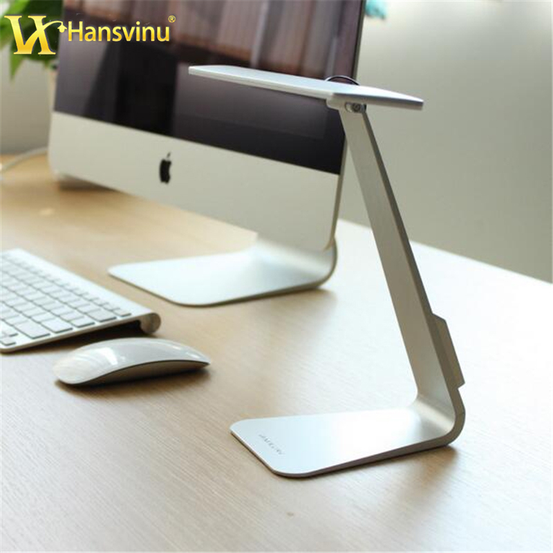3 Colors Metal Desk Lamp Light LED Lamp 3 Mode Dimming Touch Switch Reading Table light Bedside Lamps for PC Computer(China (Mainland))