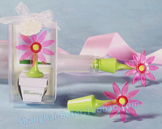 product Rubbor Flower Bottle Stopper ZH012@Shanghai Beter Gifts Co Ltd https://plus.google.com/104996923621324843251
