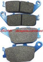 Motorcycle Semi-met Brake Pad Set HONDA VT1100 VT 1100 C2 Shadow Sabre 2000 & - ZXGYMT Accessories store