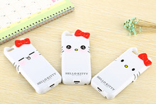 2016 for hello kitty10000mAh External power bank case Power pack Charger Backup Battery Case For iphone 66s plus 5.5 inch(China (Mainland))