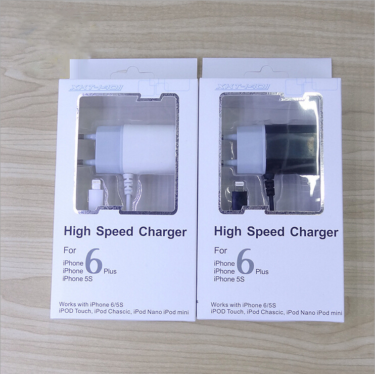 Hot selling high quality EU plug charger mobile phone charger for iphone 5s 6s 6plus charger(China (Mainland))