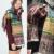 2014 New fashion burb Grid Print trench plaid Brand Silk men chiffon print ring shawl Long Scarves men Free Shipping