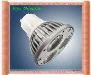 Dimmable 10pcs/lot new design 100% Cree led chip warm white gu10 9W LED light bulb lamp,ac/220v