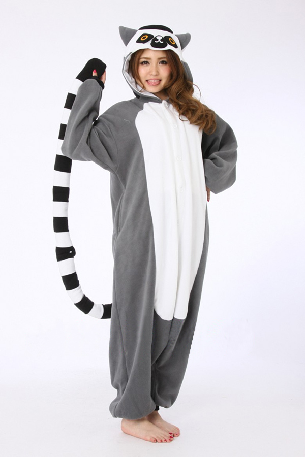 acheter livraison gratuite animaux costumes belle lemur cosplay costume pyjamas. Black Bedroom Furniture Sets. Home Design Ideas