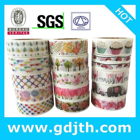 2288 patterns Free shipping Japanese printed tape, Gift packing scrapbooking masking sticker, mix designs 70pc/Lot(China (Mainland))